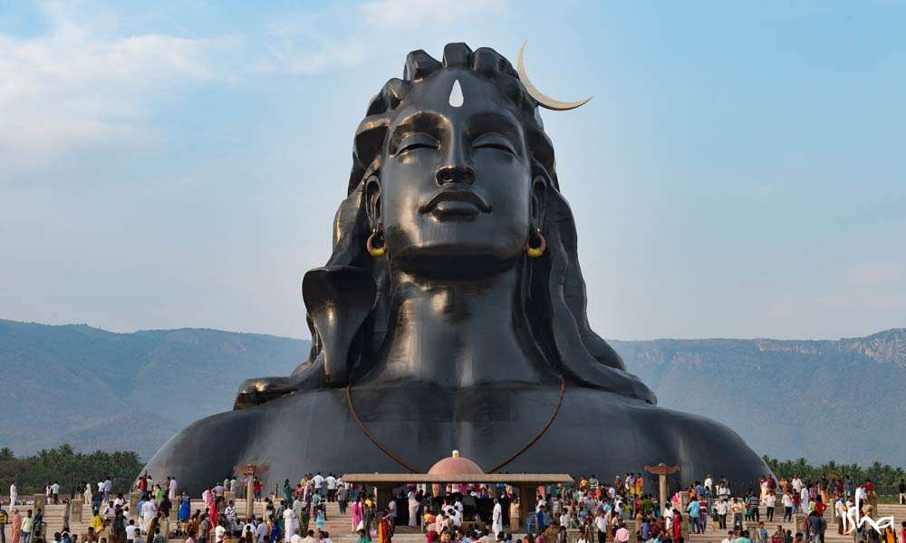 Guru Purnima Images |The 112 ft Adiyogi statue at the Isha Yoga Center