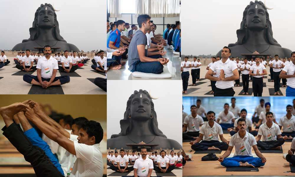 hatayoga-for-indian-army-at-isha