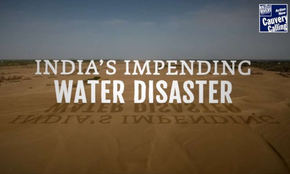 India's Impending Water Disaster