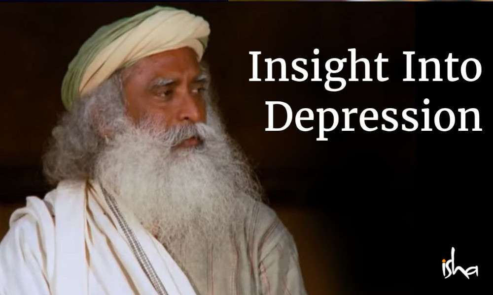 sadhguru wisdom audio | Insight Into Depression - Sadhguru