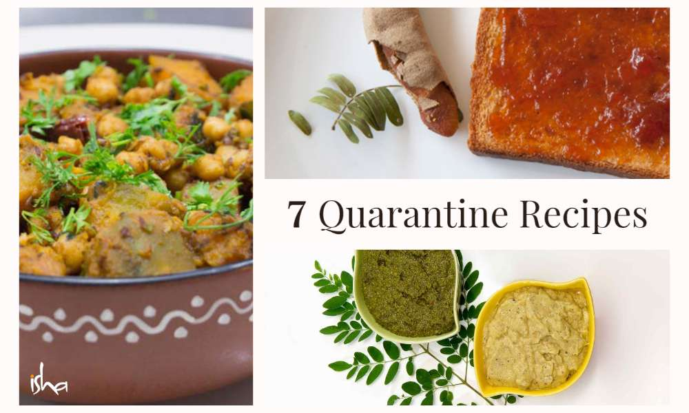 Isha Blog Article | 7 Quarantine Recipes You Would Love to Make at Home