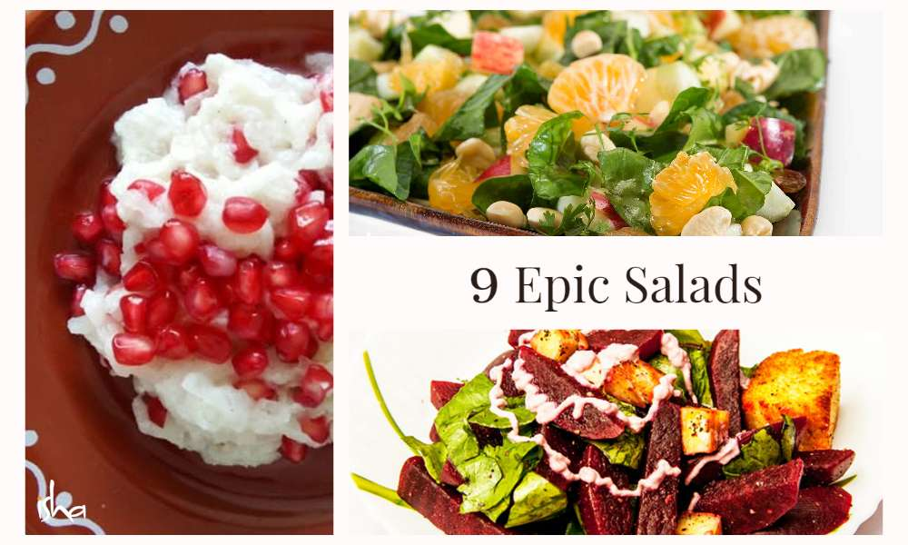 Isha Blog Article | Lockdown Recipes: 9 Epic Salad Ideas for Lunch