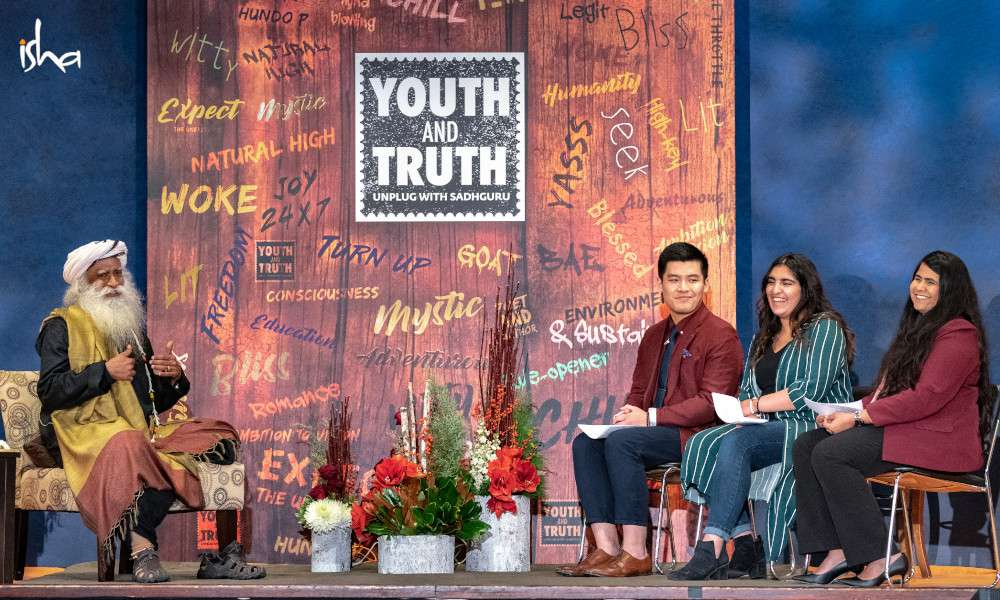 Isha Blog Article | Canada's first Youth and Truth at the University of Toronto