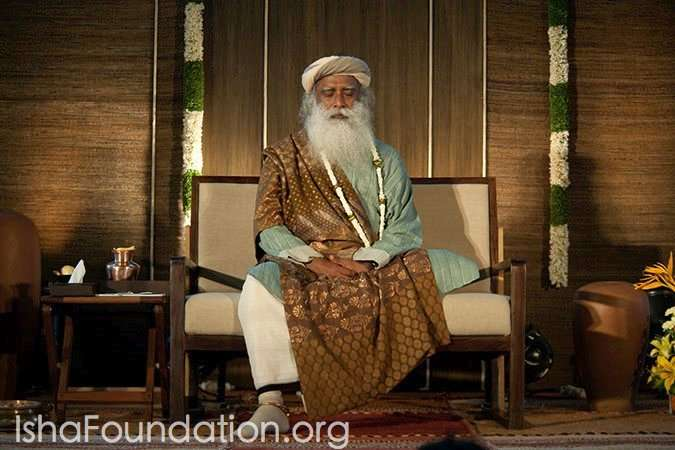 Sathsang in Bangalore with Sadhguru