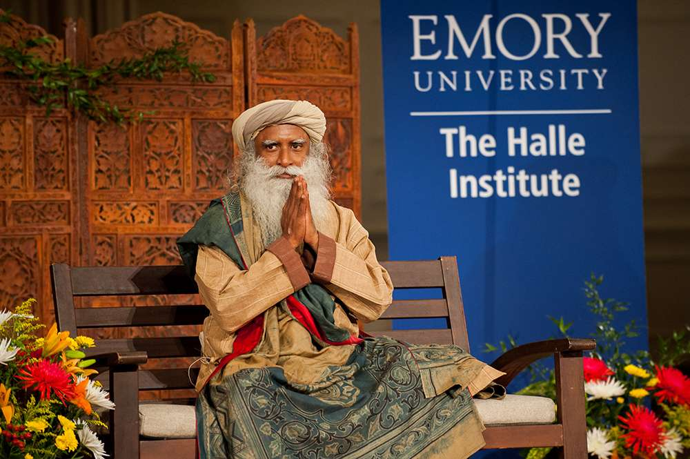 Sadhguru's talk at Emory University