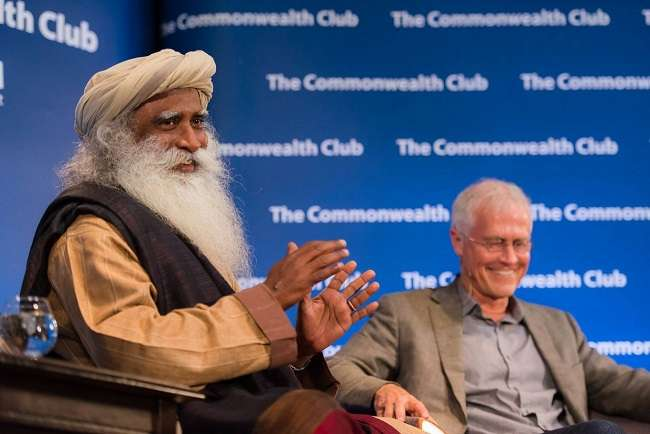 Sadhguru and Paul Hawken Discuss Socially Conscious Business | Isha