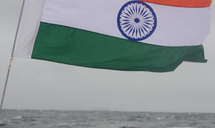 The National Tricolor, South of Cape Horn