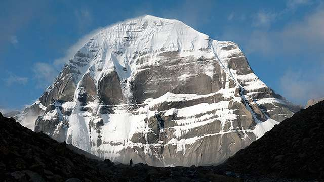 Kailash – The Greatest Mystical Library, North Face of Kailash