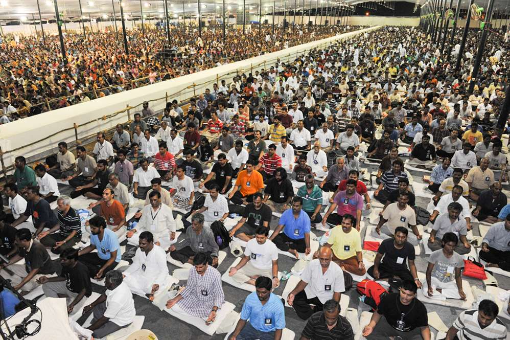 Over 15,000 in Chennai for Mega Program
