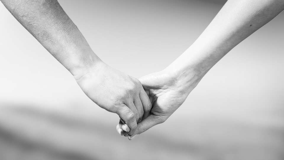 Couple holding hands - Making your marriage work