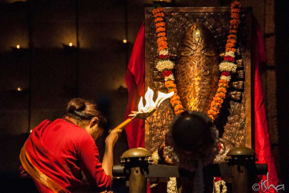Arathi for Linga Bhairavi