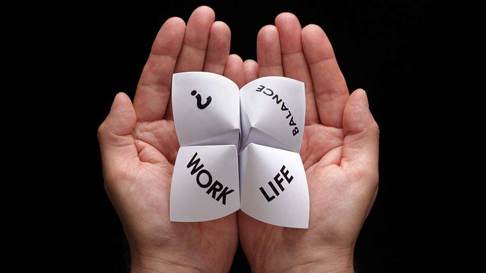 Origami Fortune Teller - Not Work and Life - Just Life and Life