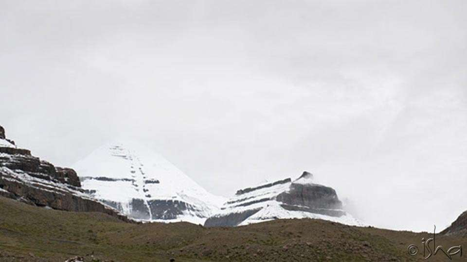 Kailash – The Greatest Mystical Library, South Face of Kailash