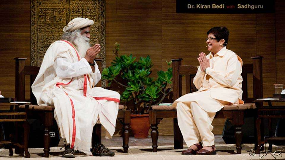 In Conversation with Dr. Kiran Bedi