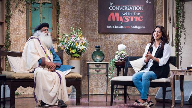 In Conversation with the Mystic - Juhi Chawla