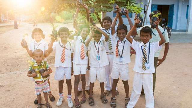 Project GreenHands Sets Record: 3 Lakh Students Plant 9 Lakh Saplings