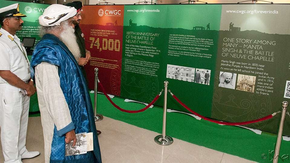 Exhibition of Indian Participation in World War I