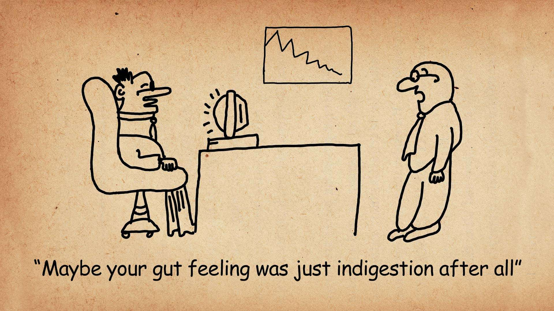 Why You Can't Always Trust Your Gut Feeling?
