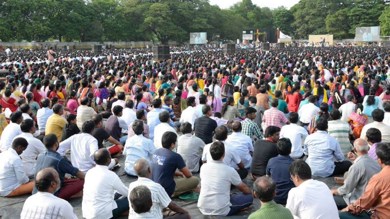 25000 people participated