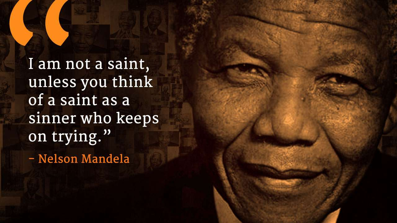 Image of: Racism Quotes From Nelson Mandela On Mandela Day Sadhguru Quotes From Nelson Mandela On Mandela Day Isha Sadhguru