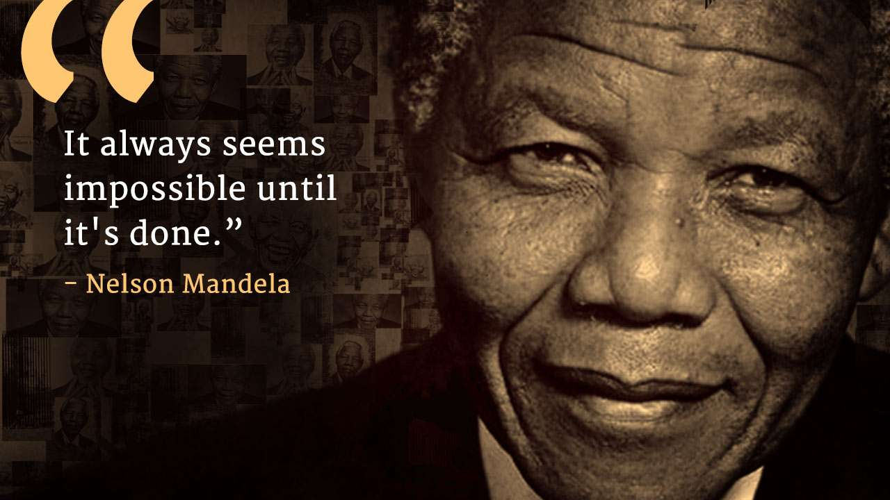 9 Quotes From Nelson Mandela On Mandela Day Isha Sadhguru