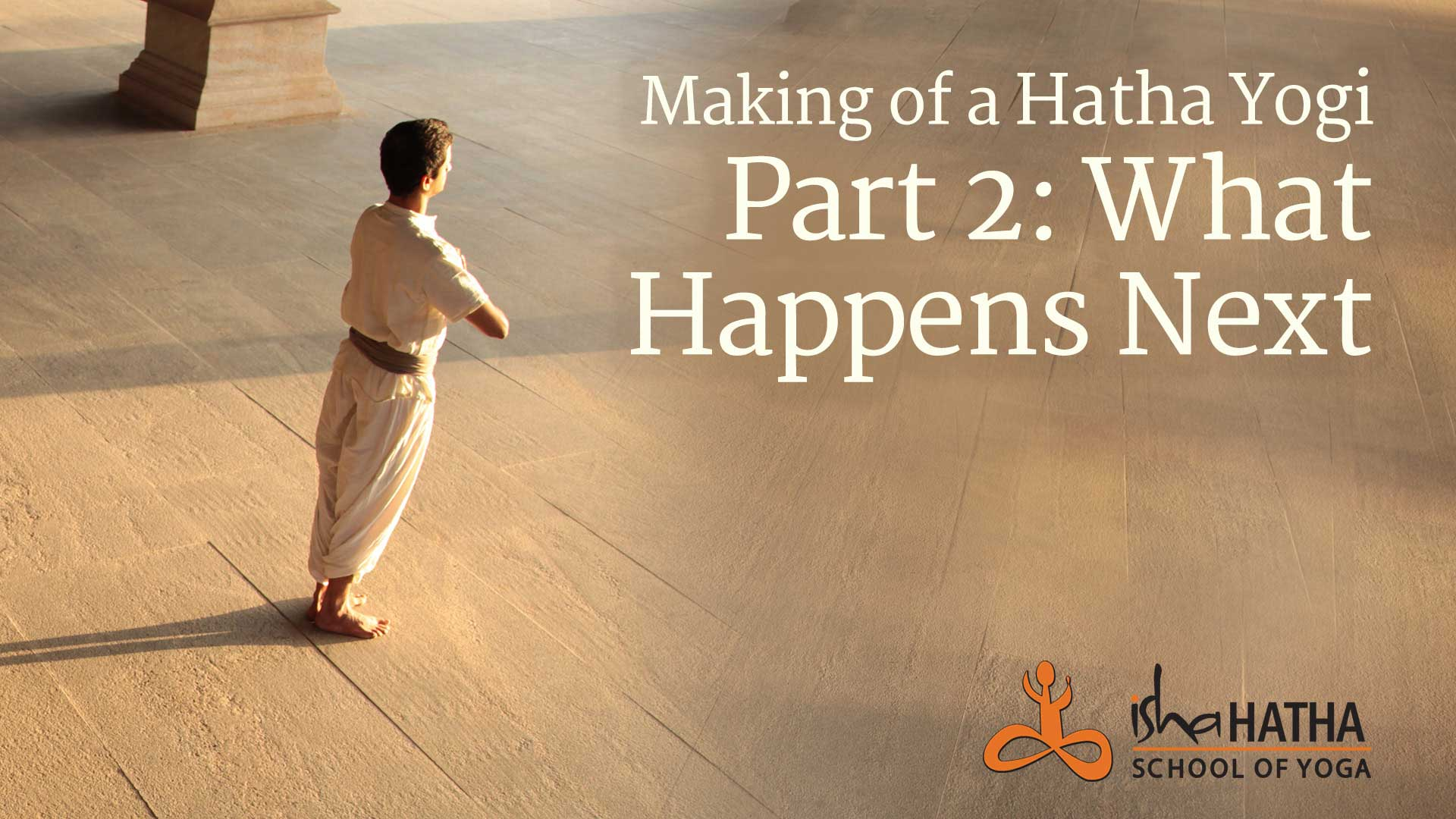 Making of a Hatha Yogi Part 2: What Happens Next