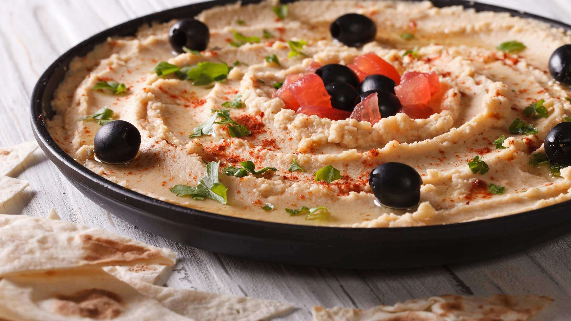 Sun-dried Tomato Hummus Recipe – Easy-learn Picture Recipe