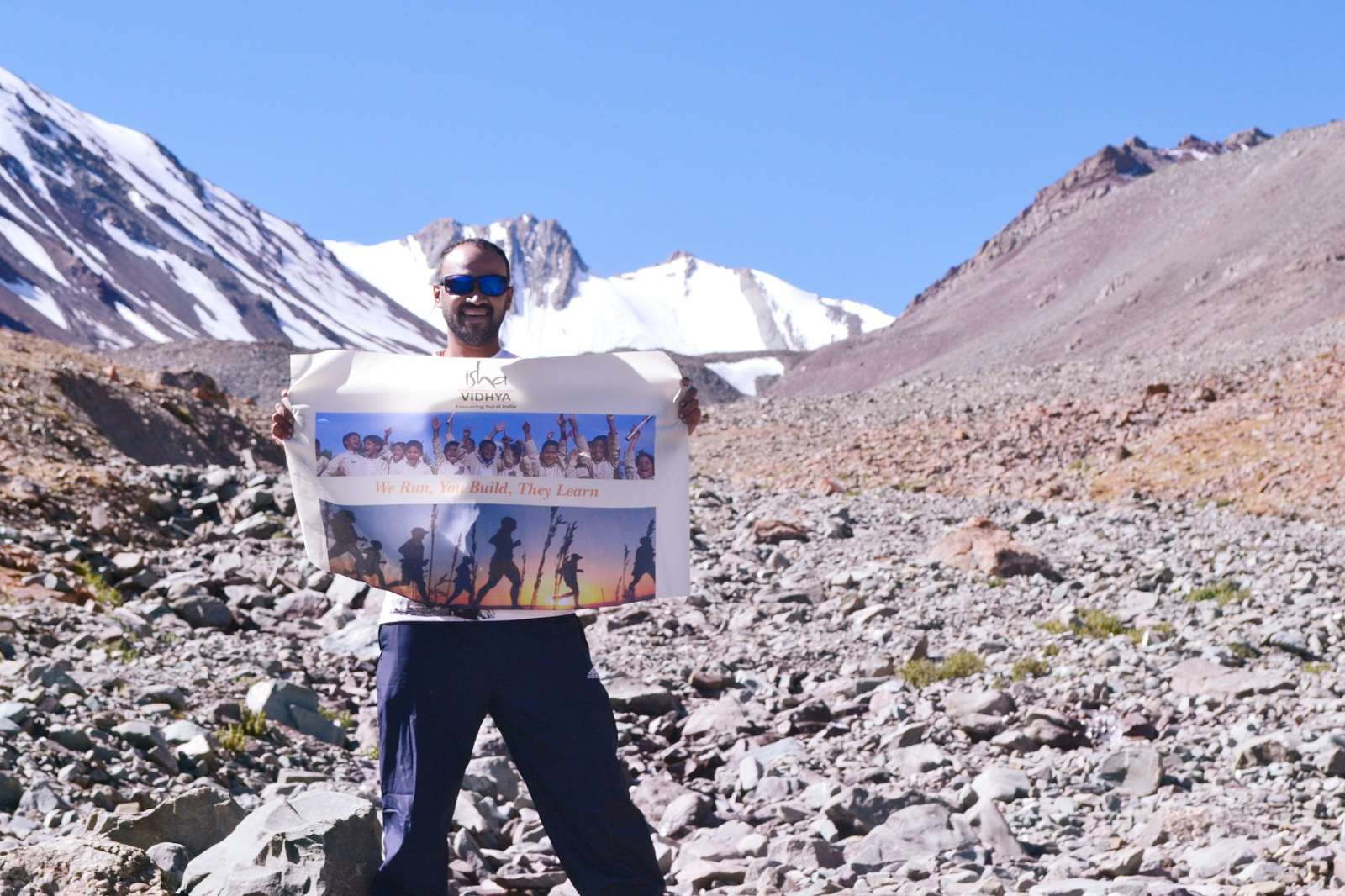 72 kms@18000 feet: Running in the Himalayas to Educate Rural India