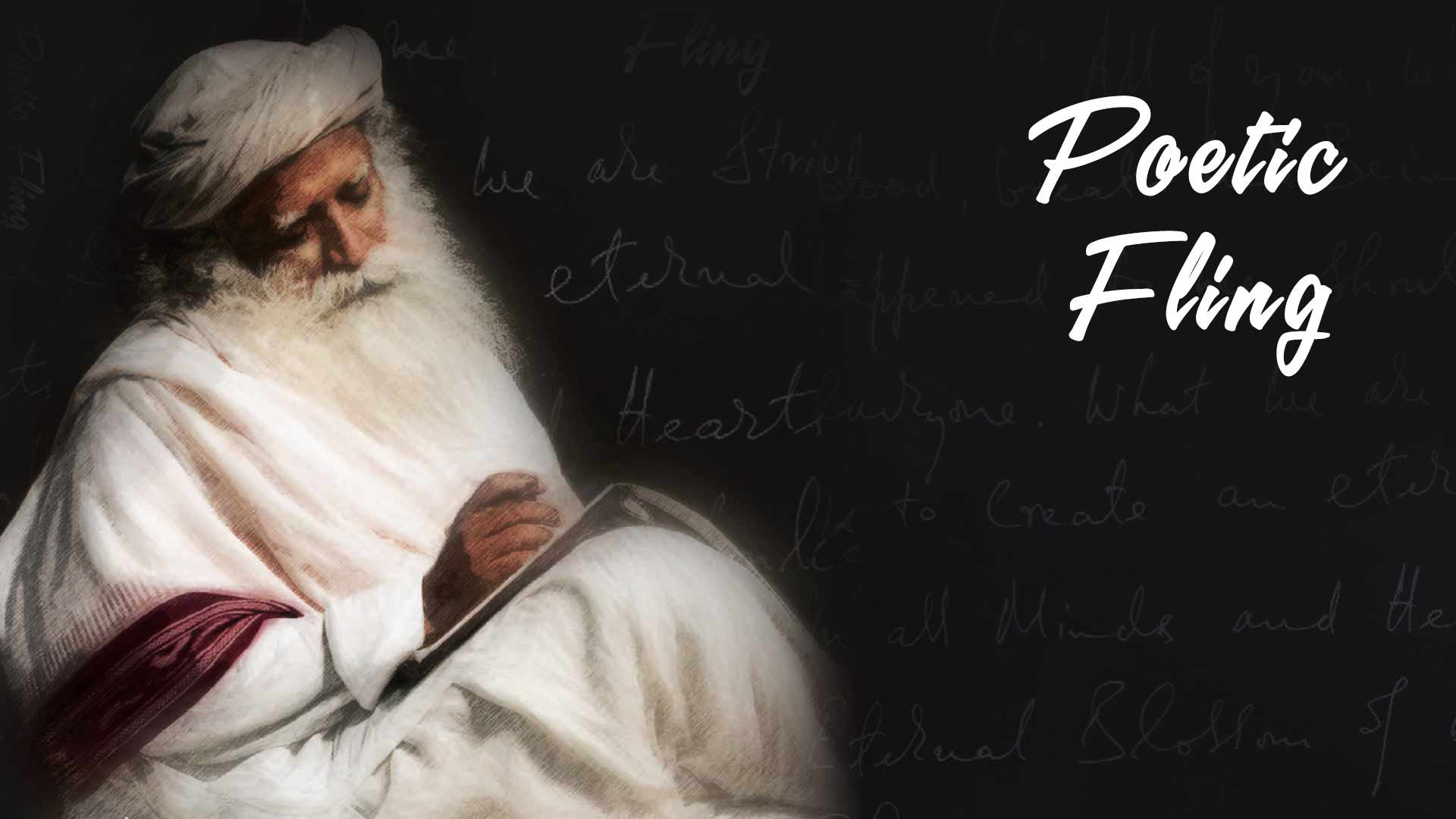 Poetic Fling - Sadhguru's Latest DVD