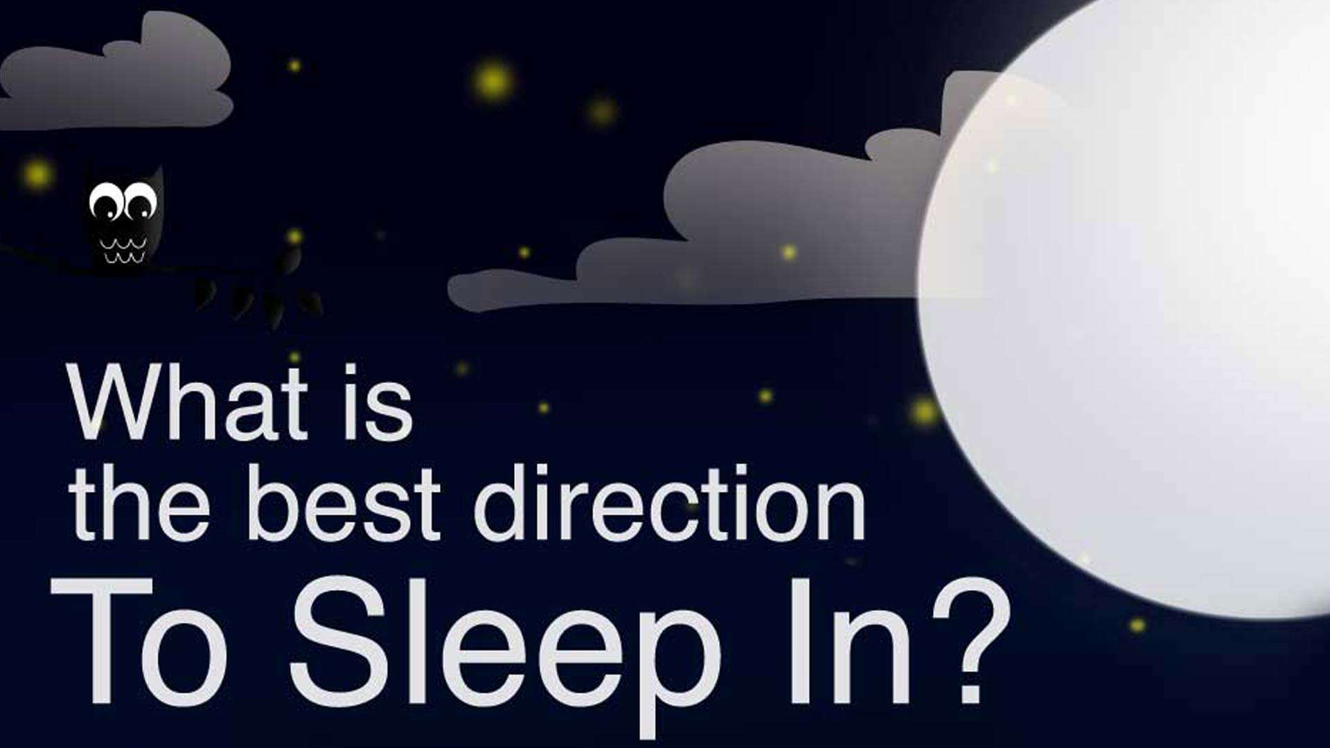Sleeping Positions: Why North Is Not The Best Direction
