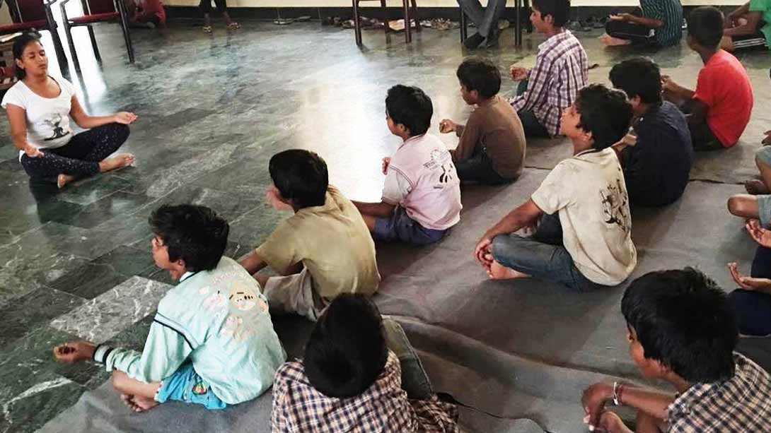 Khushi – The 11-year old Yoga Teacher from Chandigarh