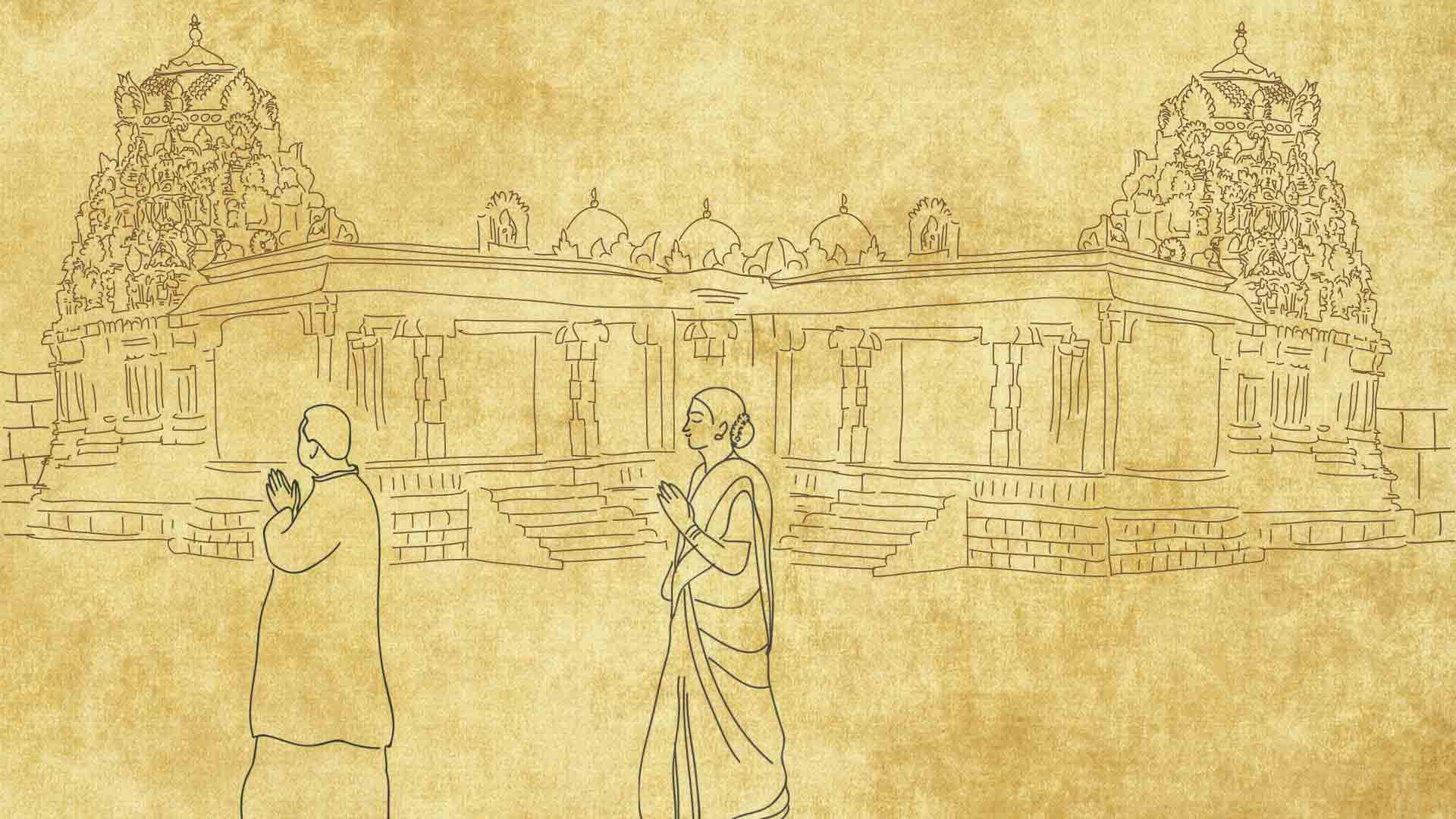 Pradakshina: Why Do We Go Clockwise Around Temples