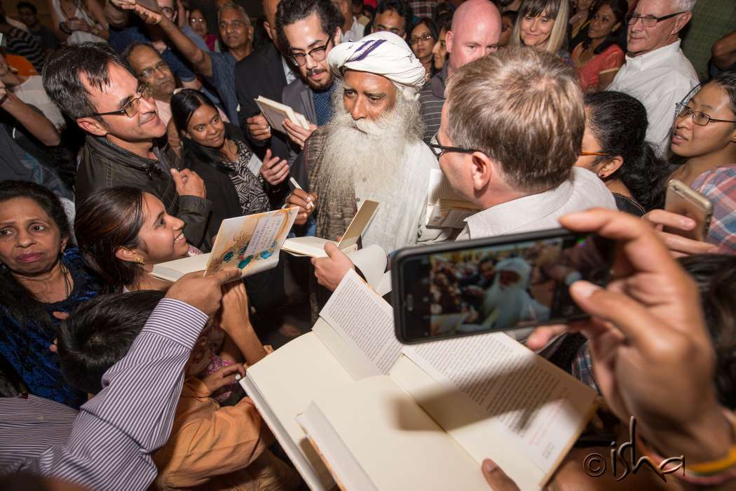 "Sadhguru and New York Times Bestseller ""Inner Engineering"" Book Sweep North America"