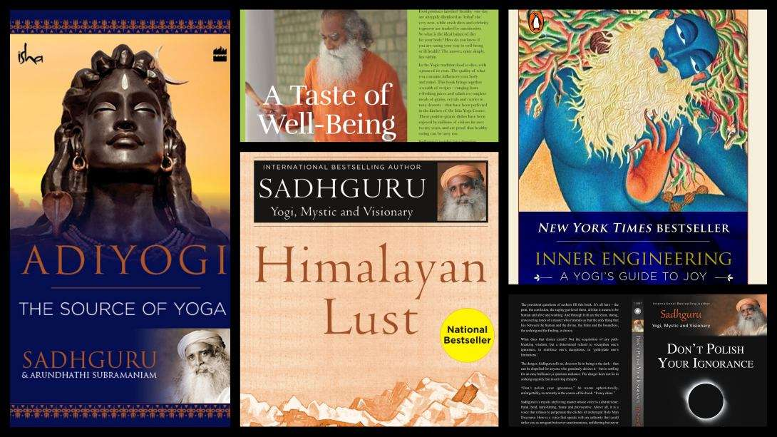 The big list of books by sadhguru on spirituality life more the big list of books by sadhguru on spirituality life more fandeluxe Image collections