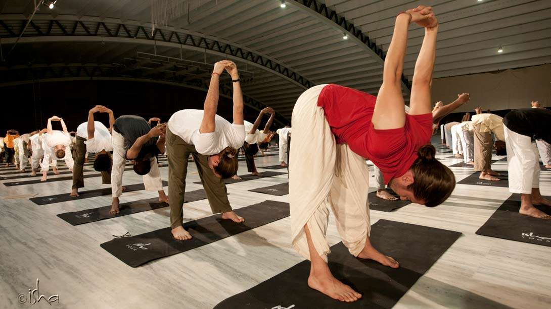 21 Day Hatha Yoga Party At The Isha Yoga Center Isha