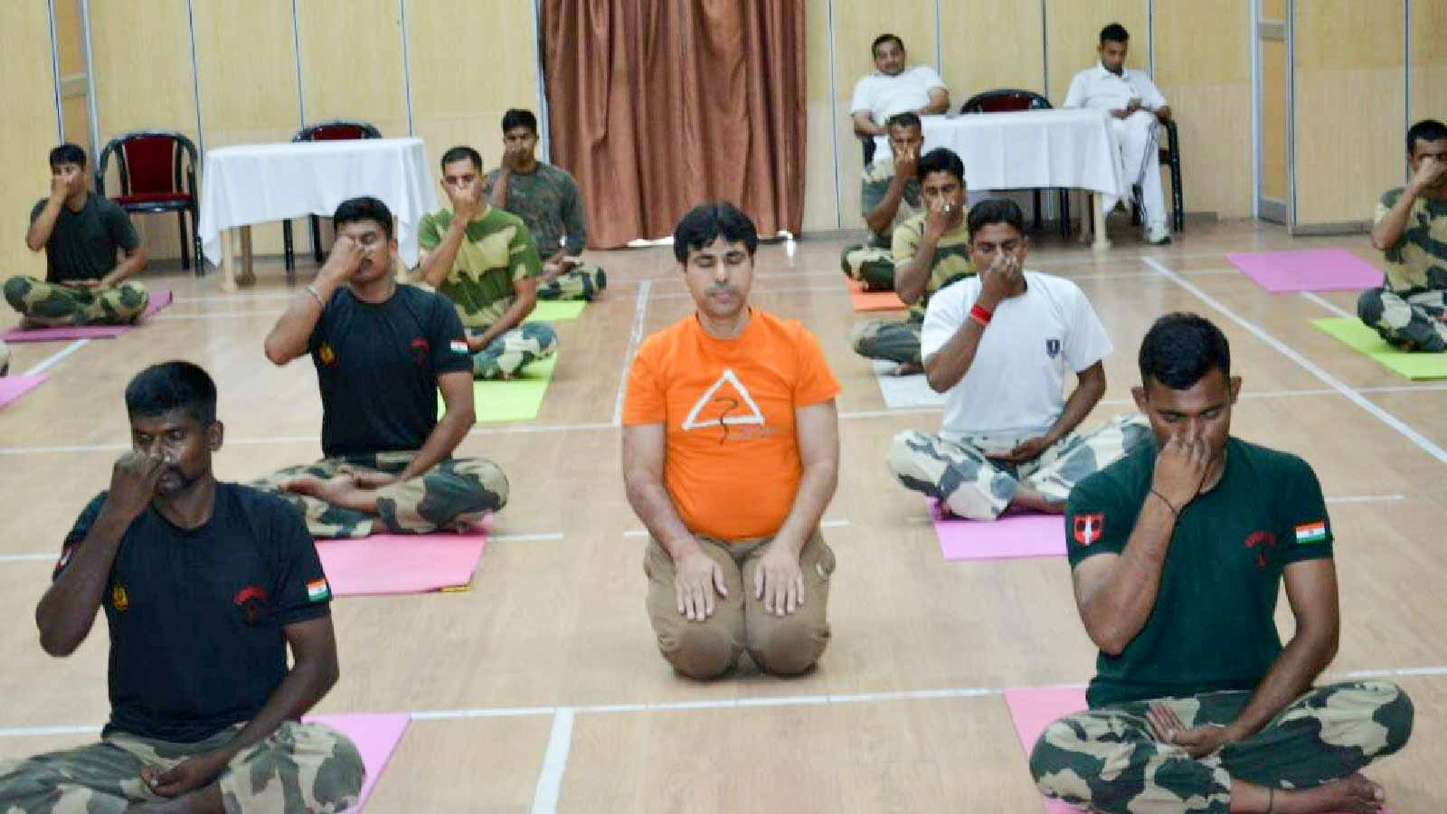 YogaDay Diaries 2017 - Rohan with BSF, Delhi