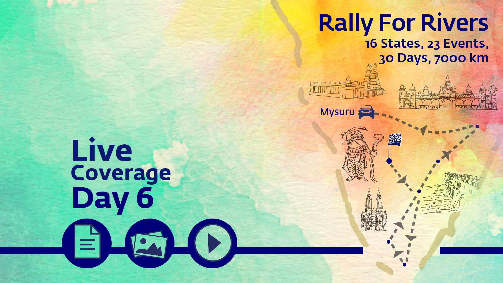 Live Coverage Day 6 in Mysore