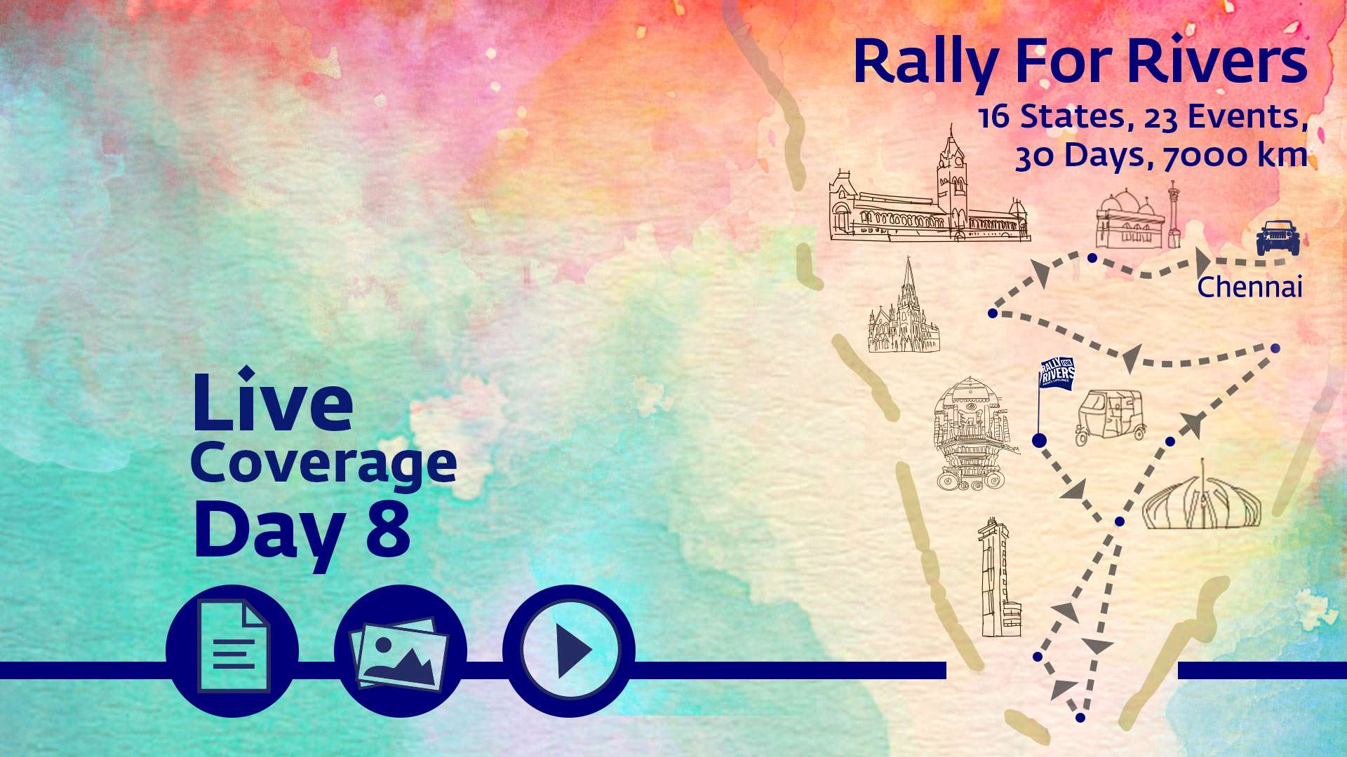 Live Coverage Day 8 - Chennai