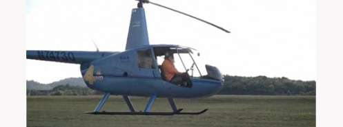 Sadhguru flying Helicopter