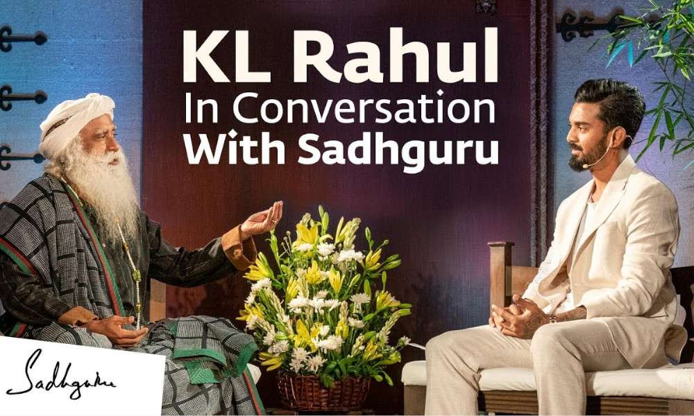 sadhguru wisdom audio | kl rahul in conversation with sadhguru | cauvery calling