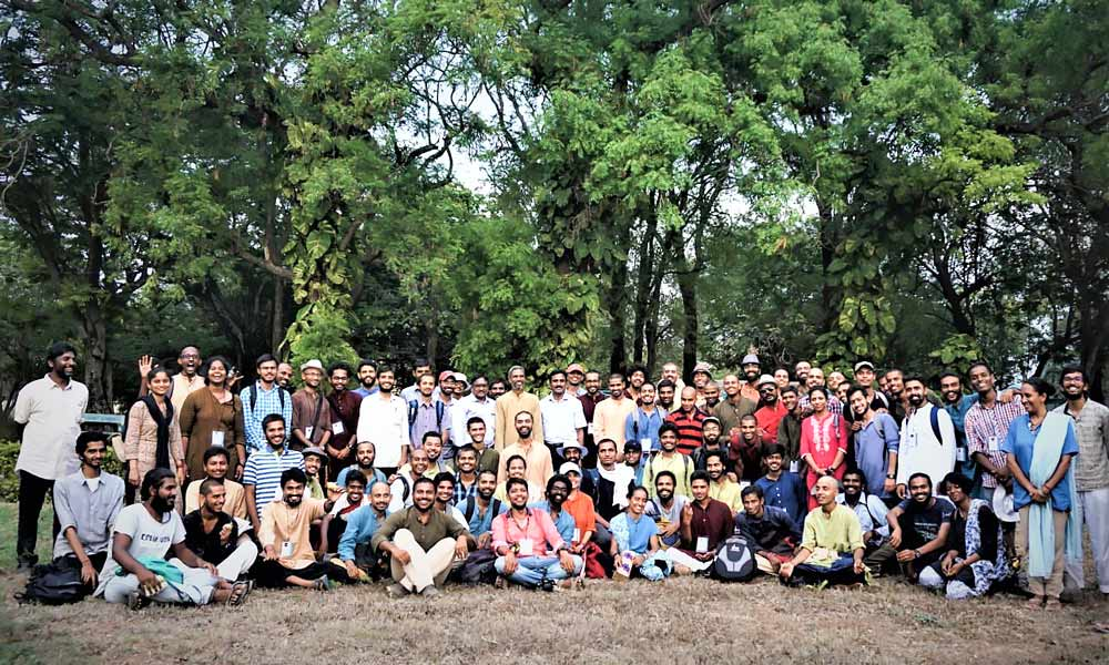 Nadi Veeras gather for a group picture after a training session at the Tamil Nadu Agricultural University | Nadi Veeras: When Ordinary Youth Rise to Become an Extraordinary Force