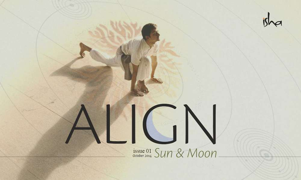 isha blog article | align oct 2014 – hatha yoga : connecting with the sun and the moon
