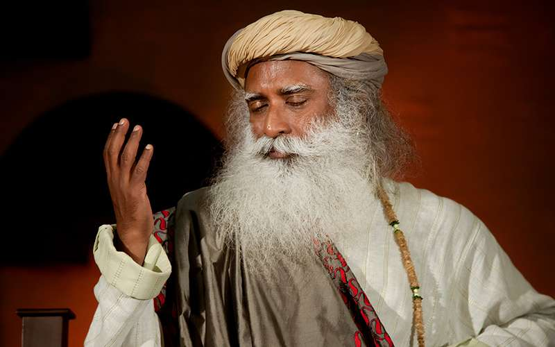 quotes deep - sadhguru explains that his own capabilities never left him in doubt as to whether he could make a living