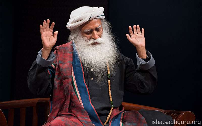 Quotes Inspirational - Sadhguru answers a question on staying peaceful and joyful even in the face of adversity.