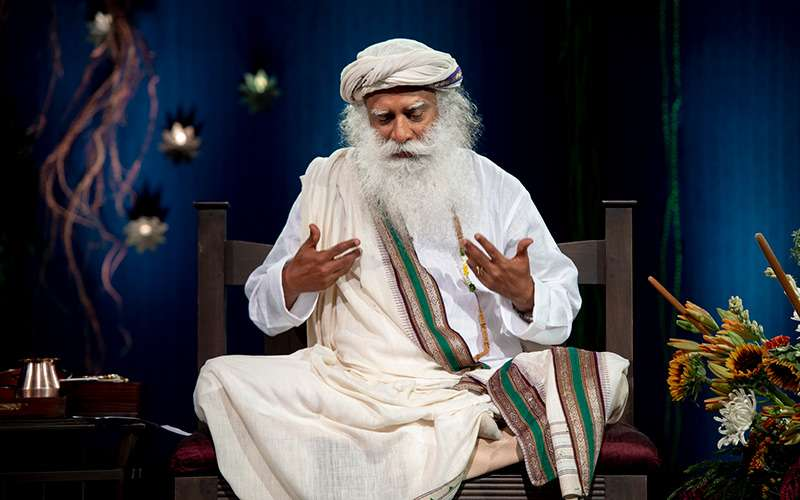 quotes about life - sadhguru looks at why people are going through so much stress in todays world
