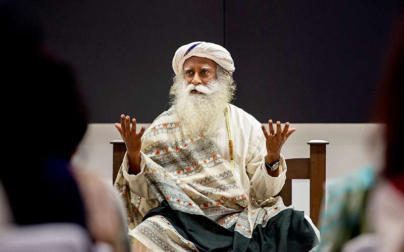 Quotes about Life - Sadhguru explains that at least our inner situation should be 100% in our control.