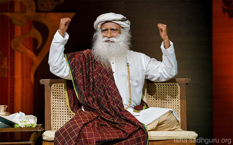 Quotes about life - Sadhguru offers a daily practice and Sadhana Support to help us tide through these unusually challenging times.
