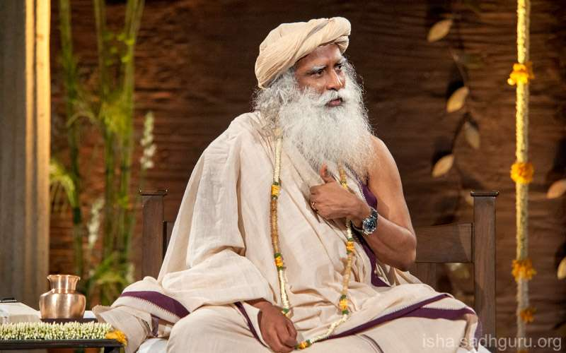 "Quotes Inspirational - Sadhguru looks at how we can take charge of how we experience our life and ""Inner Engineer"" ourselves."
