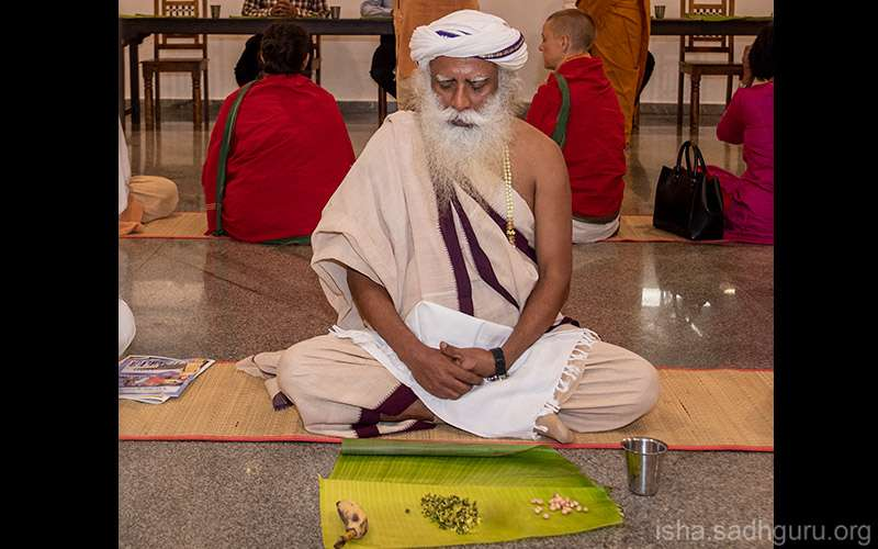 Quotes about life - Sadhguru discusses many aspects of eating for health and vitality.