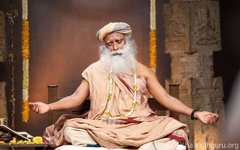 Quotes about Life - Sadhguru shows how one can make himself more receptive to Grace.